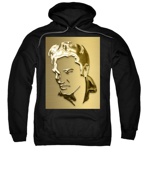 Elvis Presley Collection Sweatshirt by Marvin Blaine