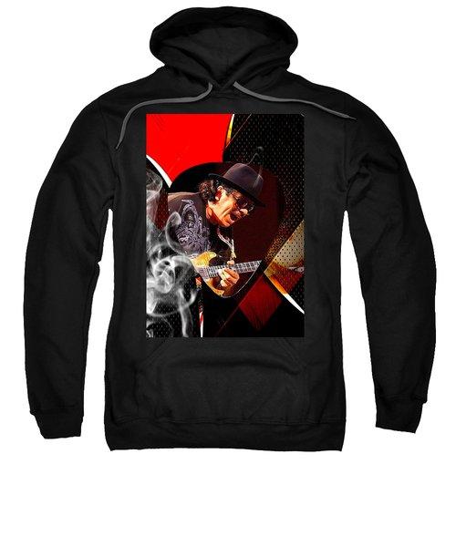 Santana Art Sweatshirt by Marvin Blaine