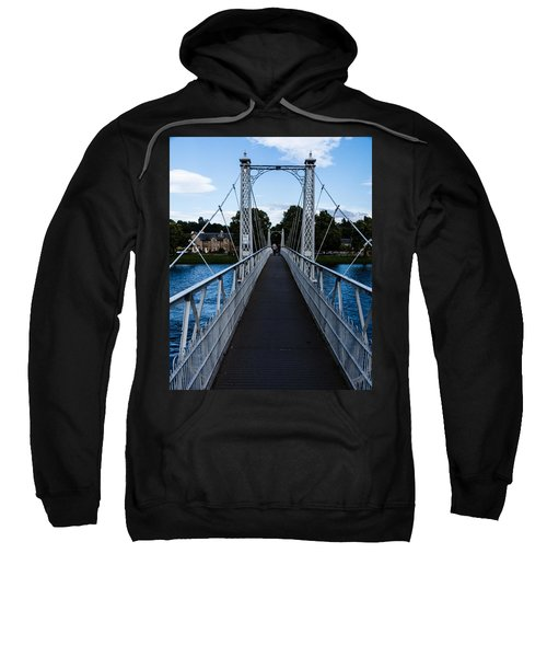 A Bridge For Walking Sweatshirt