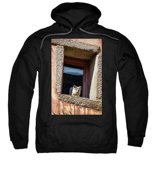 A Cat On Hot Bricks Sweatshirt