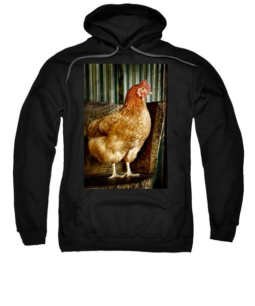 A Chicken Named Rembrandt Sweatshirt
