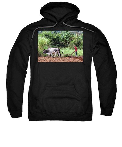 A Cuban Tractor Sweatshirt