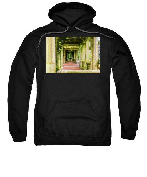 A Garden House Entryway. Sweatshirt