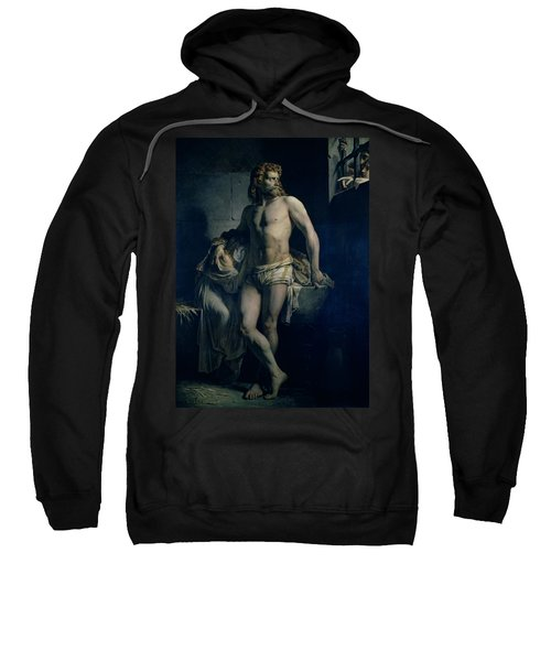 A Gaul And His Daughter Imprisoned In Rome Sweatshirt