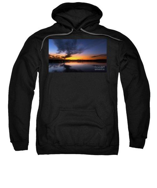 A Misty Sunset On Lake Lanier Sweatshirt
