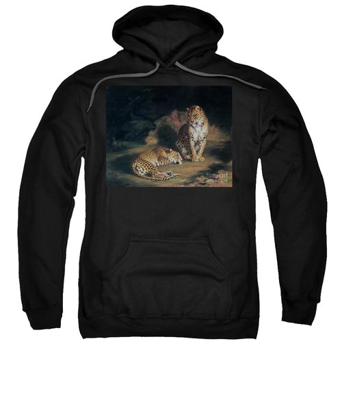 A Pair Of Leopards Sweatshirt by William Huggins