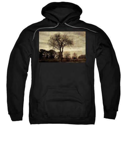 A Tree Along The Roadside Sweatshirt