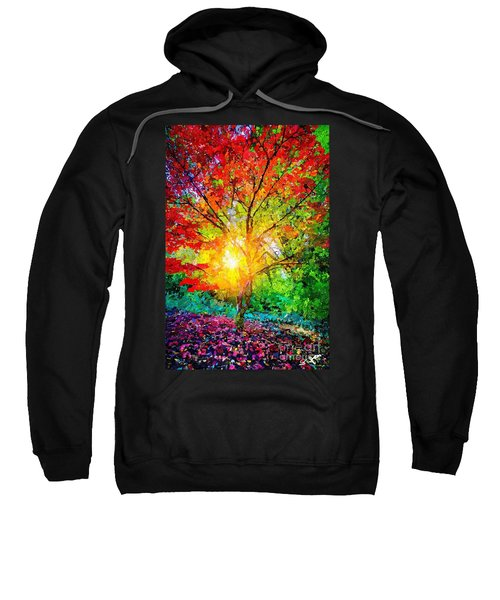 A Tree In Glory Sweatshirt