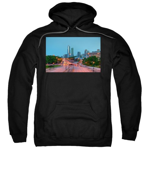 A View Of Columbus Drive In Chicago Sweatshirt