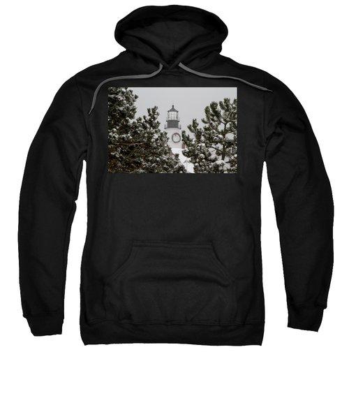 A View Of The Portland Head Light Sweatshirt