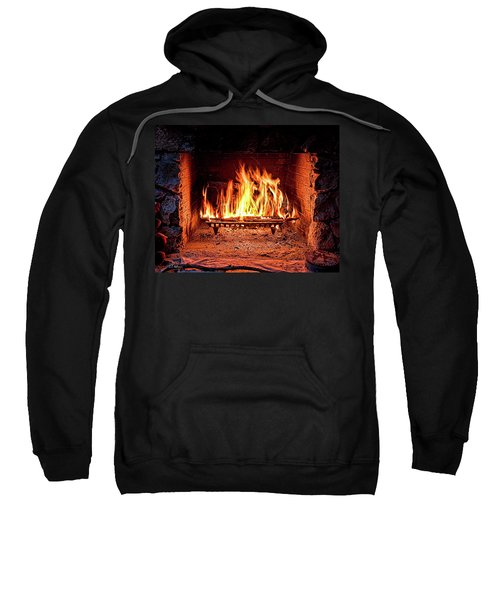 A Warm Hearth Sweatshirt