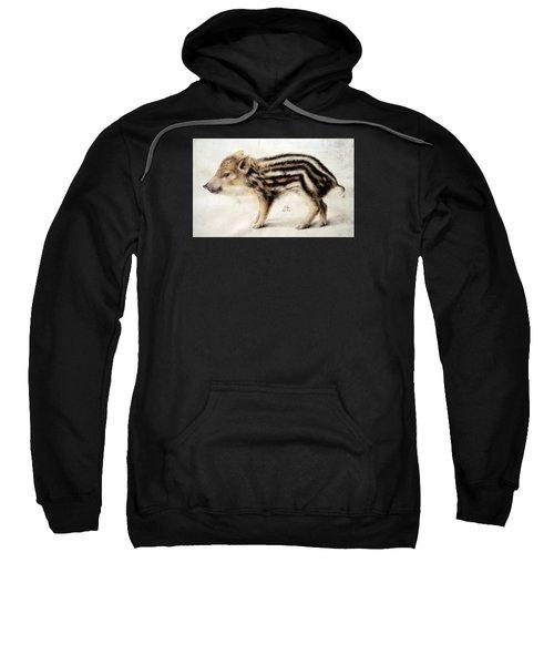 A Wild Boar Piglet Sweatshirt