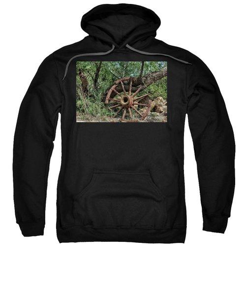 Abandoned Wagon Wheel Sweatshirt