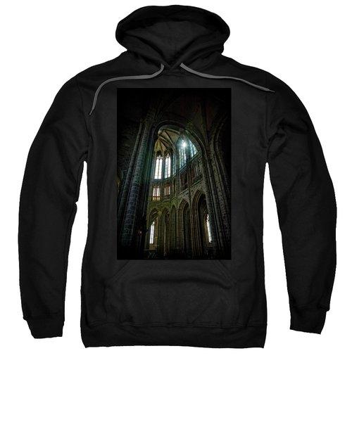 Abbey With Heavenly Light Sweatshirt