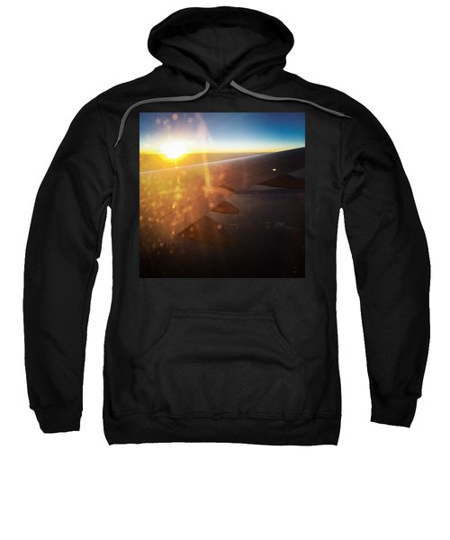 Above The Clouds 03 Warm Sunlight Sweatshirt