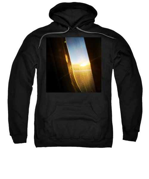 Above The Clouds 05 - Sun In The Window Sweatshirt