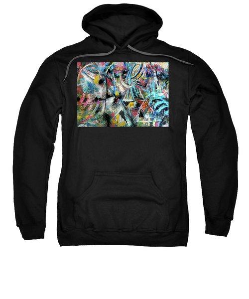Abstract 301 - Encaustic Sweatshirt