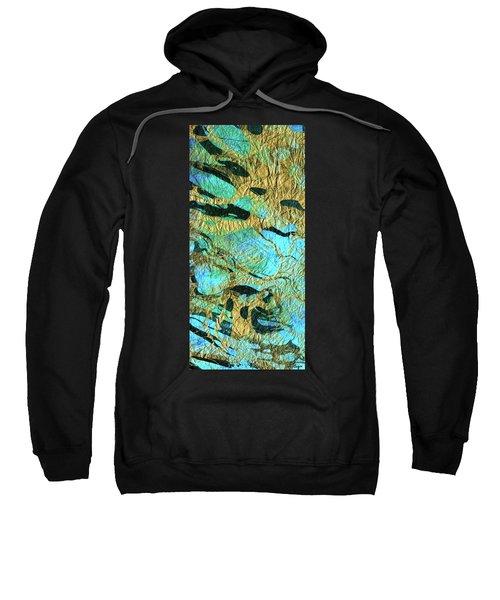 Abstract Art - Deeper Visions 3 - Sharon Cummings Sweatshirt