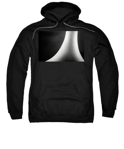 Abstract-black And White Sweatshirt