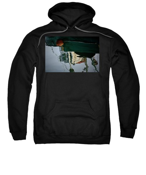Abstract Boat Reflection II Sweatshirt