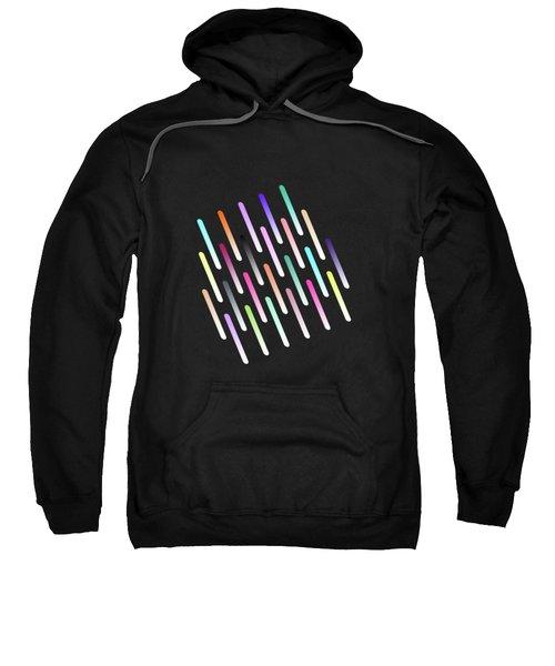 Abstract Cosmic Rain Sweatshirt