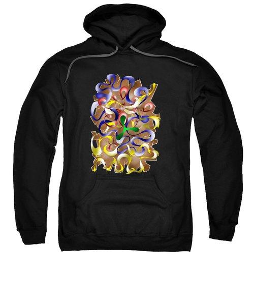 Abstract Digital Art - Jamurina V2 Sweatshirt