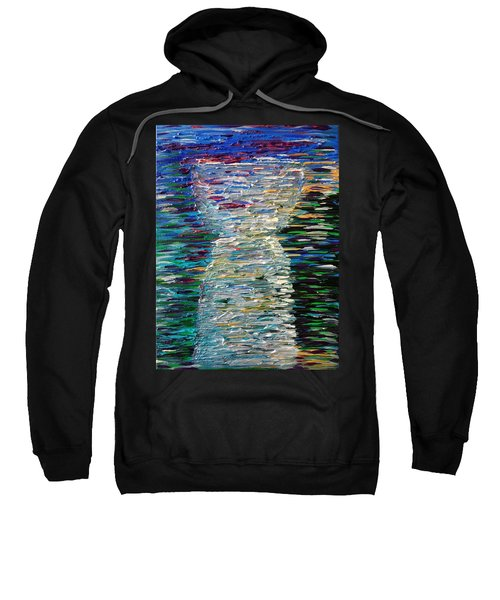 Abstract Latte Stone Sweatshirt