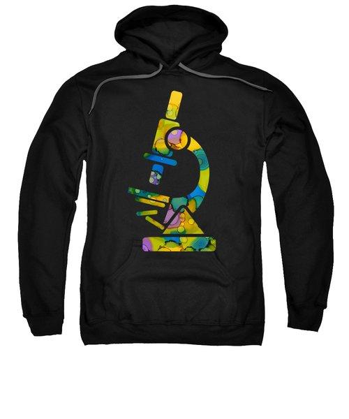 Abstract Microscope Party Sweatshirt