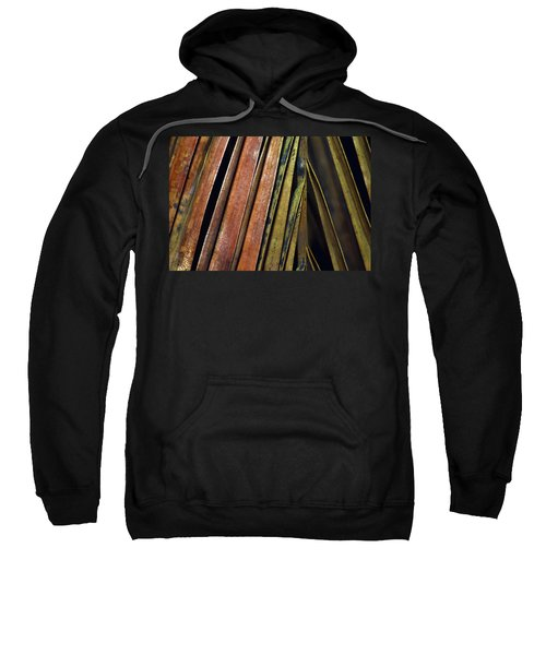 Abstract Palm Frond Sweatshirt