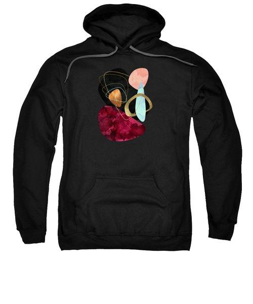 Abstract Pebbles II Sweatshirt