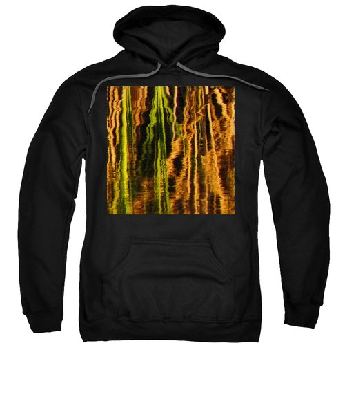 Abstract Reeds Triptych Middle Sweatshirt