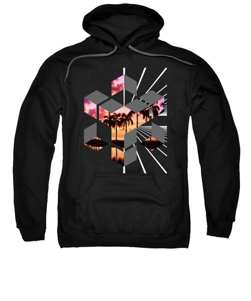 Abstract Space 3 Sweatshirt by Russell K