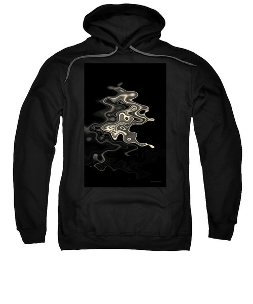 Abstract Swirl Monochrome Toned Sweatshirt