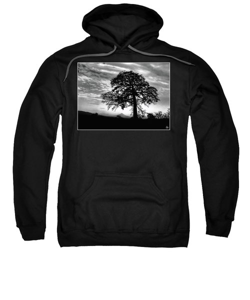 Acacia And Volcano Silhouetted Sweatshirt