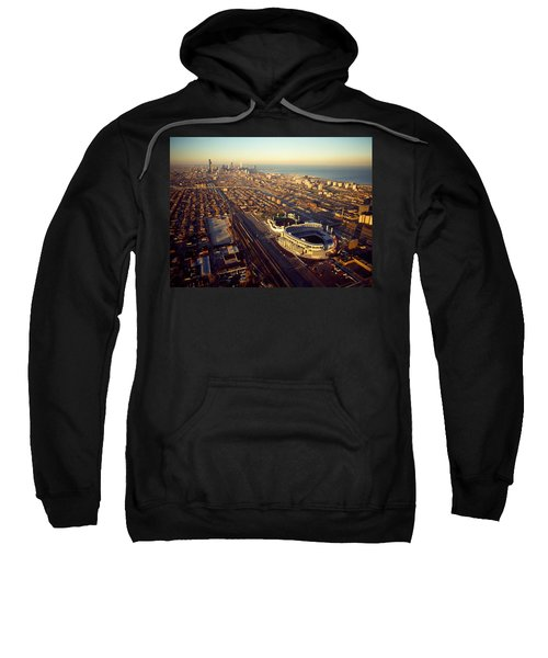 Aerial View Of A City, Old Comiskey Sweatshirt by Panoramic Images