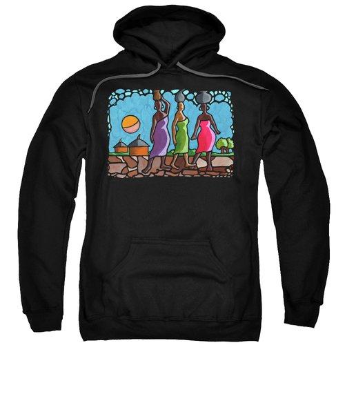 African Cat Walk Sweatshirt