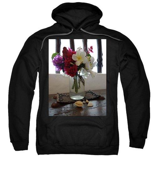 African Flowers And Shells Sweatshirt