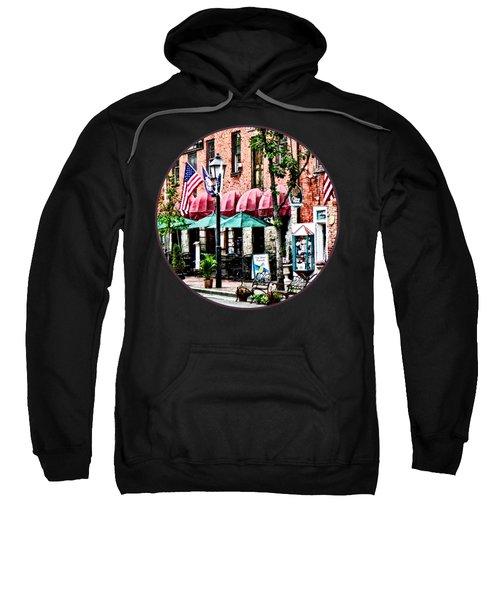 Alexandria Street With Cafe Sweatshirt