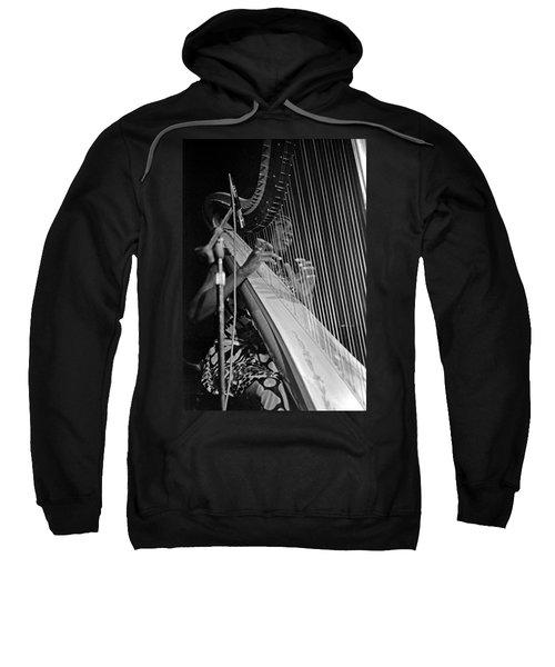 Alice Coltrane On Harp Sweatshirt