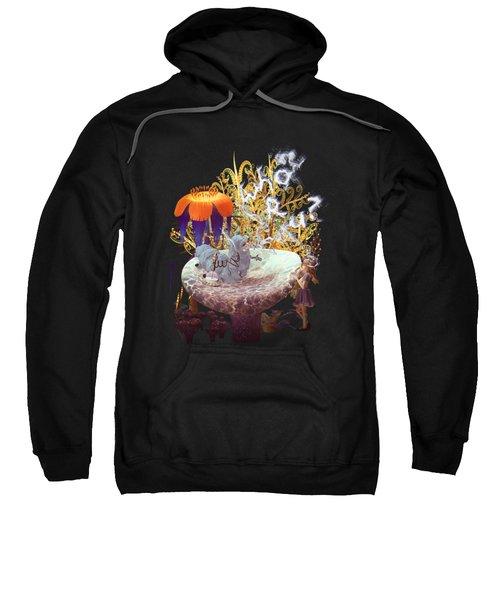 Alice N The Hookah Caterpillar Sweatshirt by Methune Hively