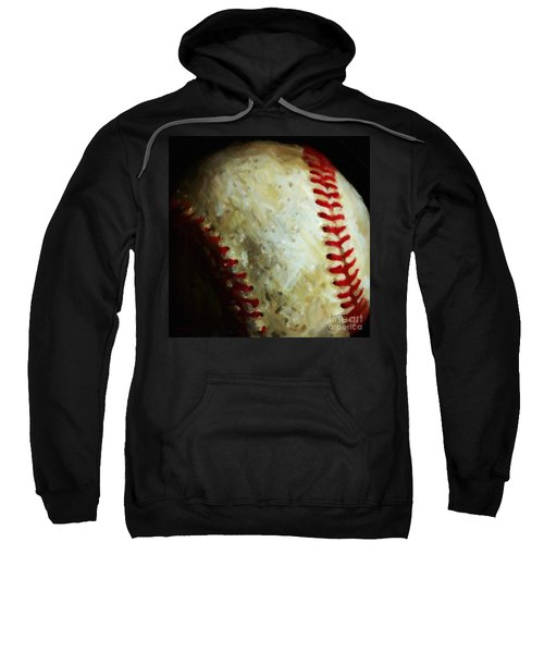 All American Pastime - Baseball - Square - Painterly Sweatshirt
