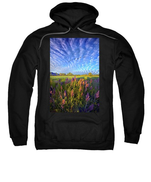 All Things Created And Held Together Sweatshirt