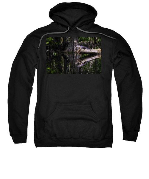 Alligators The Hunt, New Orleans, Louisiana Sweatshirt