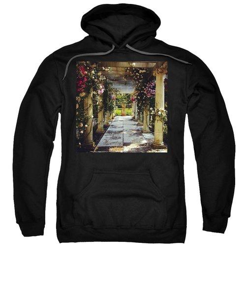 A Gilded Rose Garden  Sweatshirt