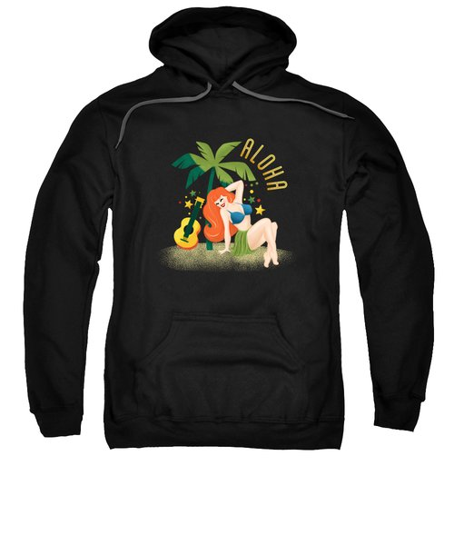 Aloha From Sunny Hawaii Wish You Were Here Sweatshirt