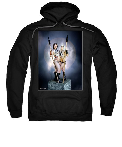 Amazon With Spears Sweatshirt