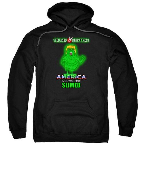 America, You've Been Slimed Sweatshirt by Sean Corcoran