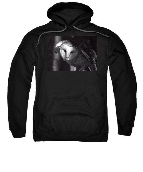 American Barn Owl Monochrome Sweatshirt