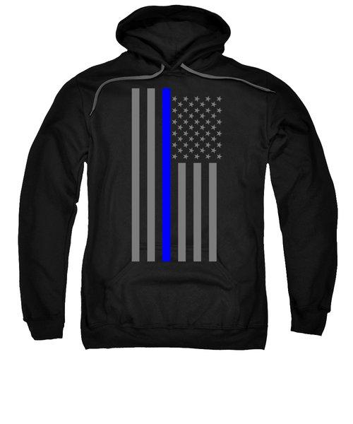 American Thin Blue Line Sweatshirt