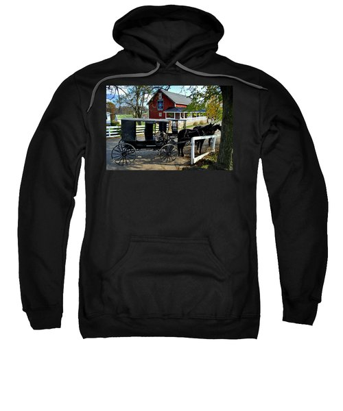 Amish Country Horse And Buggy Sweatshirt